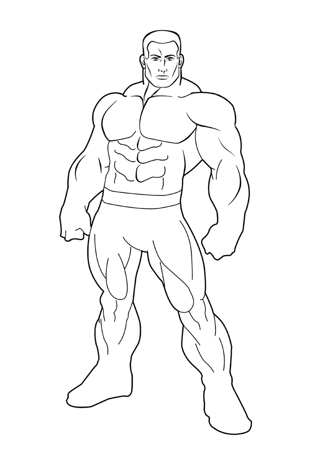 627x900 Template Hero By Hulkdaddyg
