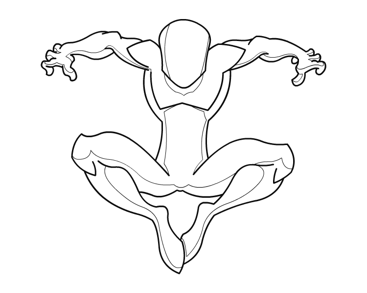 750x600 Drawing Spiderman Poses