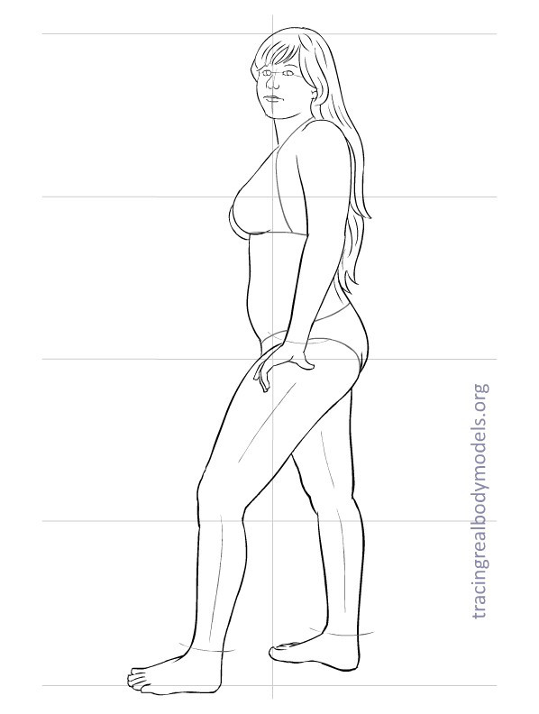598x792 Fashion Figure Template 0016 Drawing The Body (