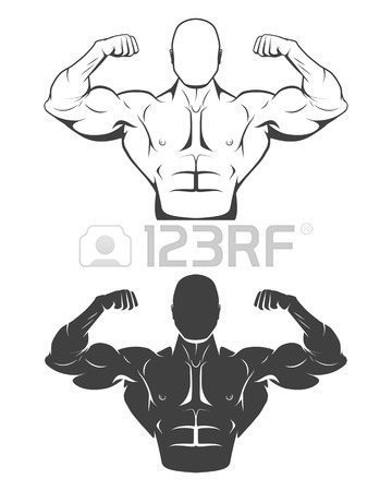 Bodybuilding Drawing