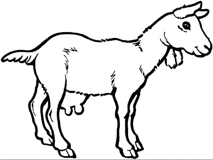 700x526 Goat Coloring Pages Goat Coloring Page Goat Simulator Coloring