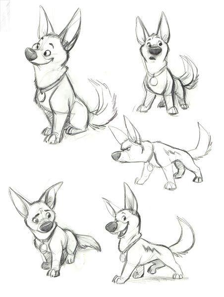 452x600 Bolt (Character)gallery Concept Art, Character Design