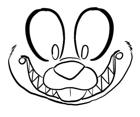 552x464 Drawing Bonnie By Mrgaiathefnafaddict