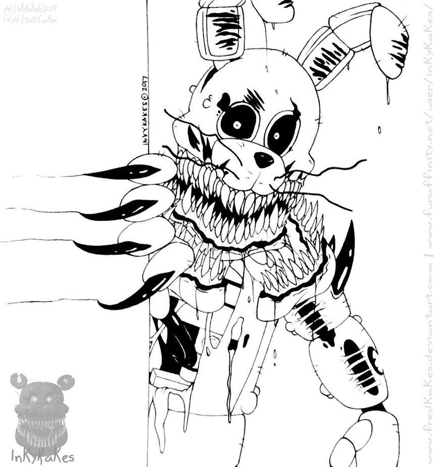 863x926 Twisted Bonnie~ By Fredkakes
