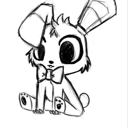 517x515 Bonnie Sketch By Crazybadluck