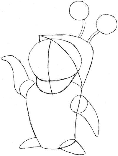 400x529 How To Draw Boo From Monsters Inc. With Easy Step By Step Drawing