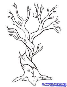 236x303 How To Draw An Oak Tree My Best Friends Wedding
