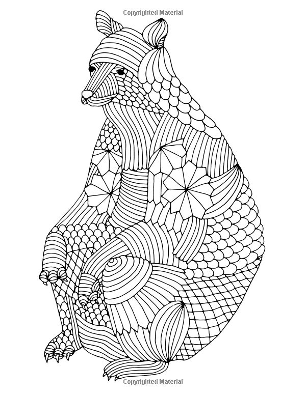 book animals drawing - Coloring Book Animals