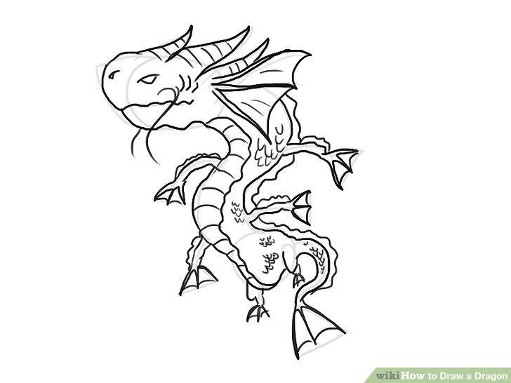 728x546 The 4 Best Ways To Draw A Dragon