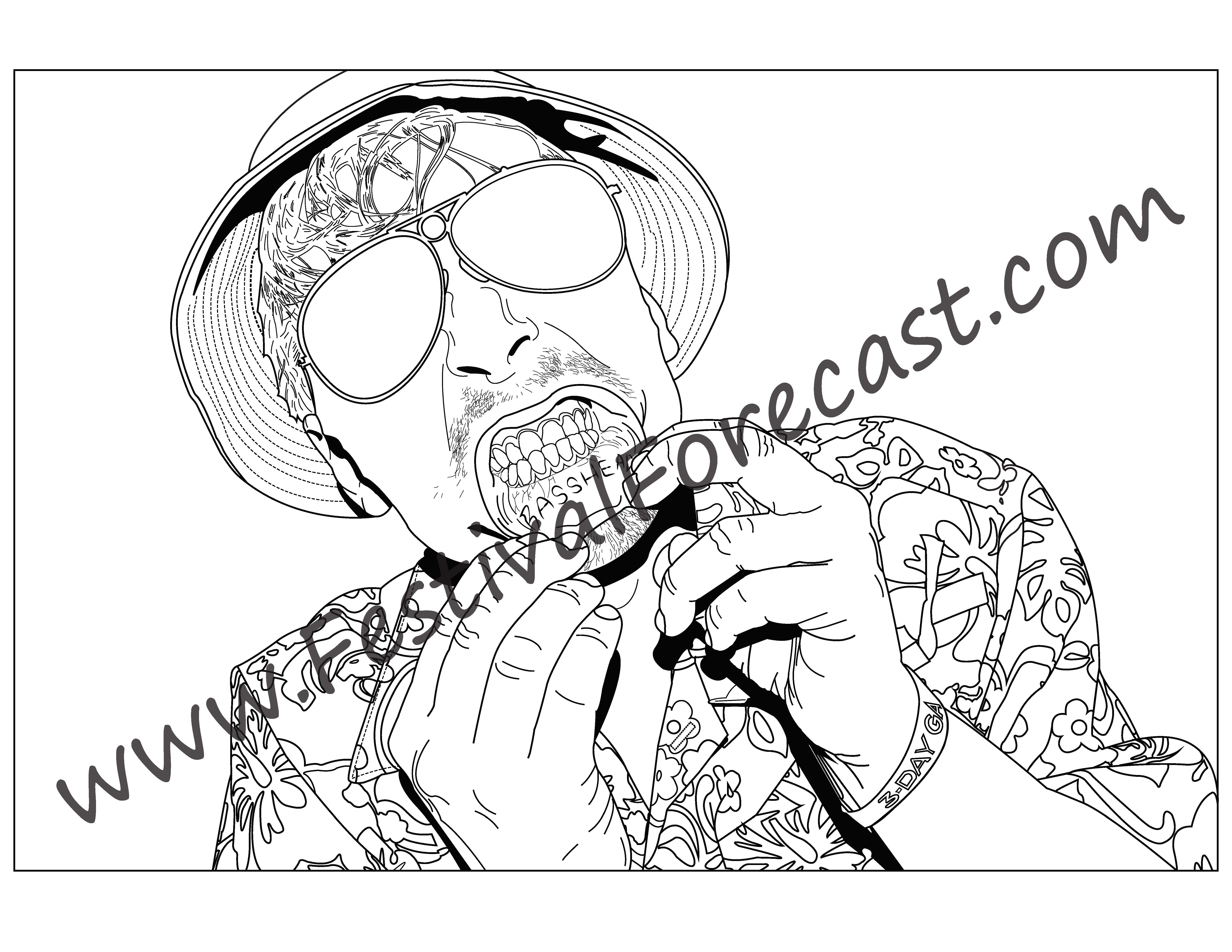 6160x4760 The Festival Forecast Coloring Book Festival Forecast