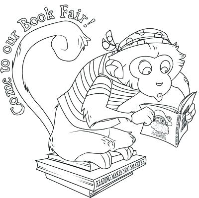400x399 Best Fair Coloring Pages Print Trade Health Book Monkey Page 1 S