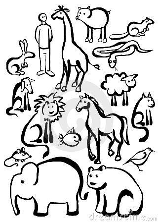 322x450 Coloring Pages Drawing Safari Animals Drawing In Colour Safari