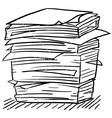 380x400 Of Files Clipart