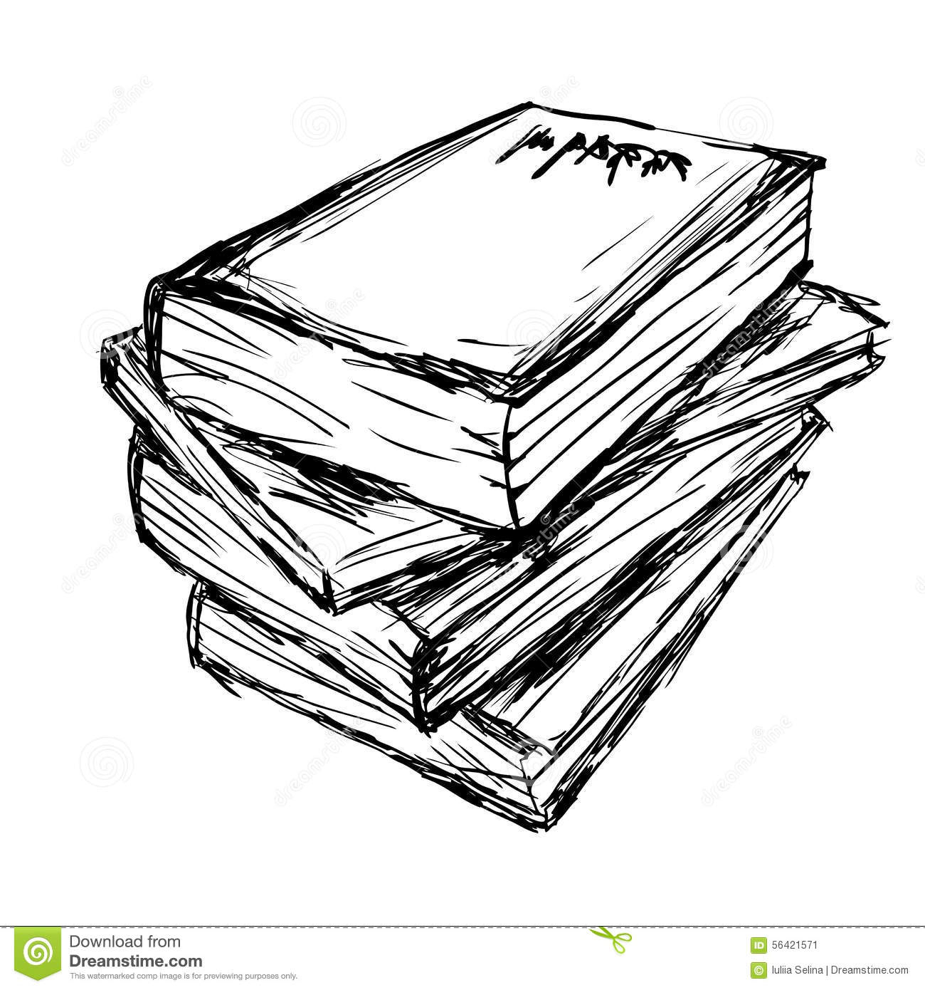 1300x1390 Stack Of Books Drawing Drawn Book Pile