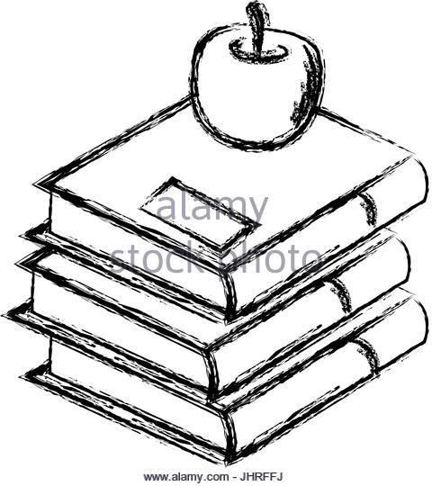 480x540 Stack Of School Books Vector Stock Photos Amp Stack Of School Books