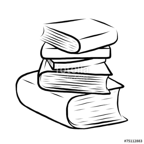 500x500 Stack Of Five Books Stock Image And Royalty Free Vector Files