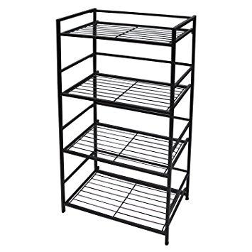 355x355 Flipshelf Folding Metal Bookcase Small Space Solution