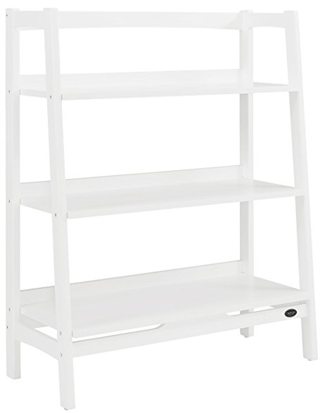 462x587 Crosley Furniture Landon Wide Etagere Bookcase