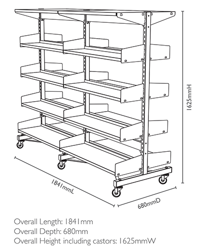 403x500 Shelving Dimensions Amp Loads Fry Library Amp School Supplies