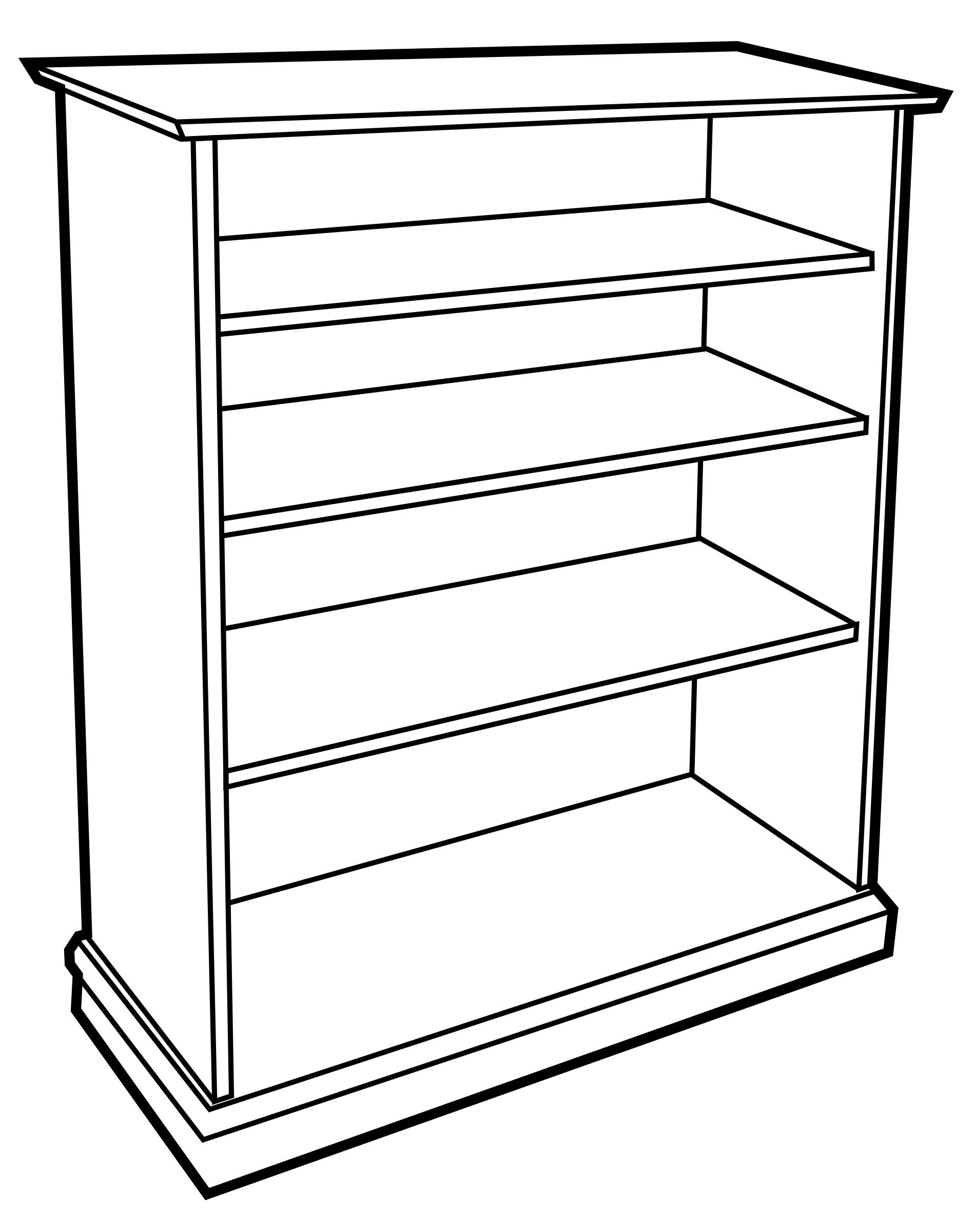 1898x2400 Bookcase Icons Png
