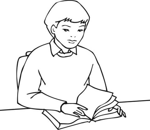 Silhouette Of Books at GetDrawings.com | Free for personal use ...
