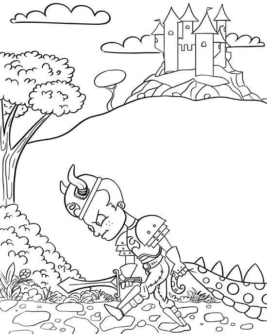 550x688 Children Drawing Book Coloring Page