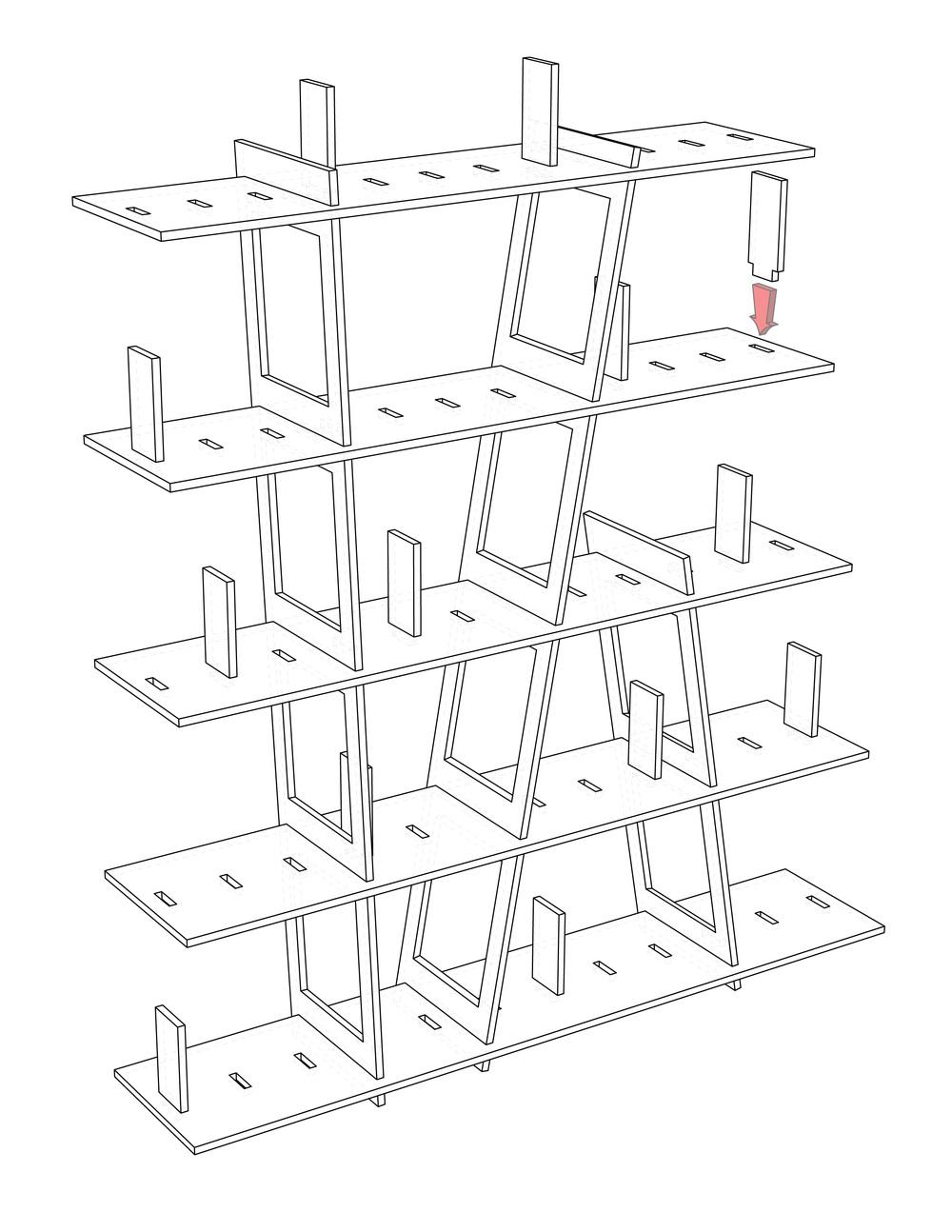 1000x1294 Bookshelf 01 Tim Cousino