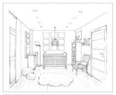 236x194 Visual Narrative Inspiration Perspective Drawing Living Room