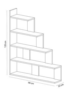 236x311 Gianna Bookcase Abbie's Dream Bedroom Products