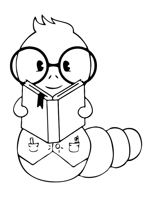 500x647 The Bookworm Educational Supplies The Bookworm's Mr. Worm