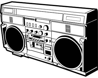 340x270 Boombox Card Etsy