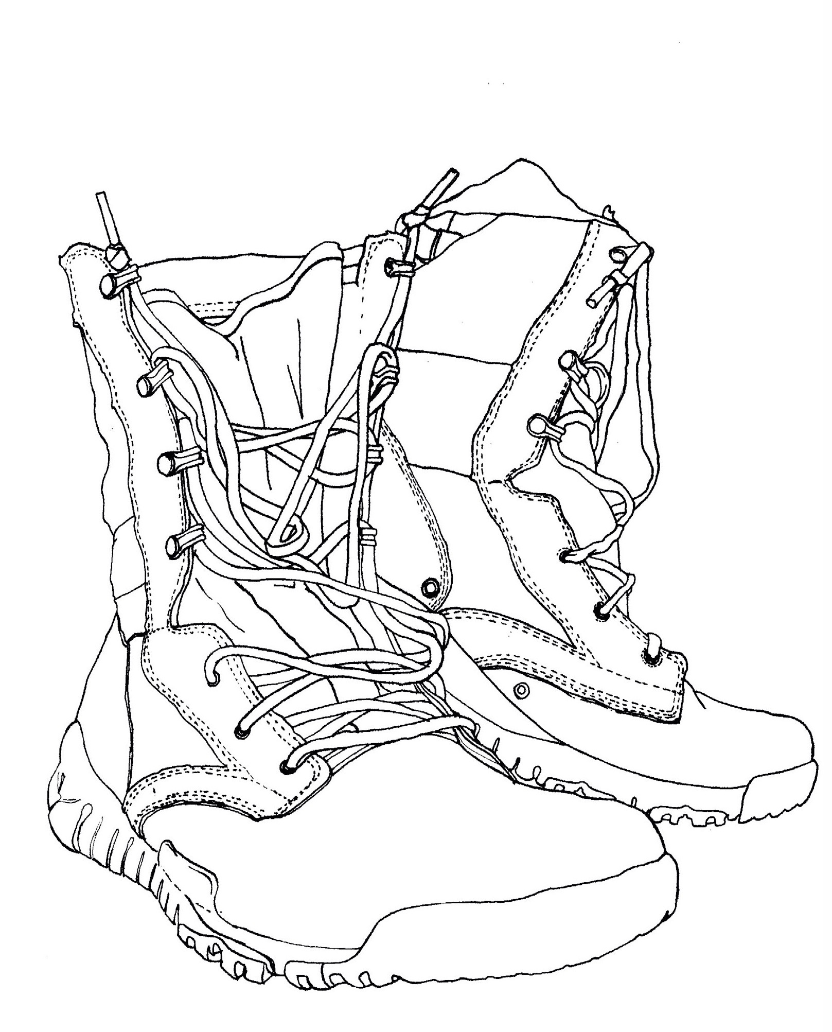 Boot Drawing at GetDrawings.com | Free for personal use Boot Drawing ...