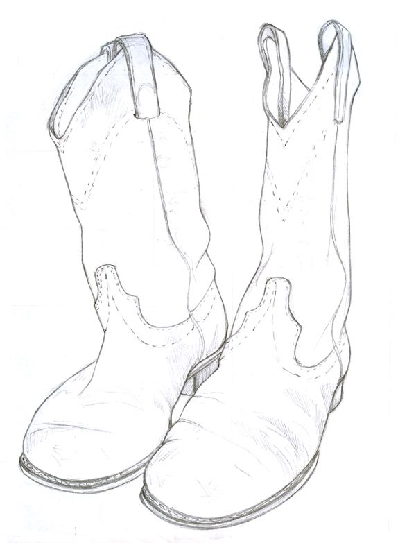 Boots Drawing At Getdrawings Com Free For Personal Use Boots