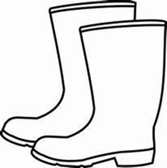 how to draw rubber boots
