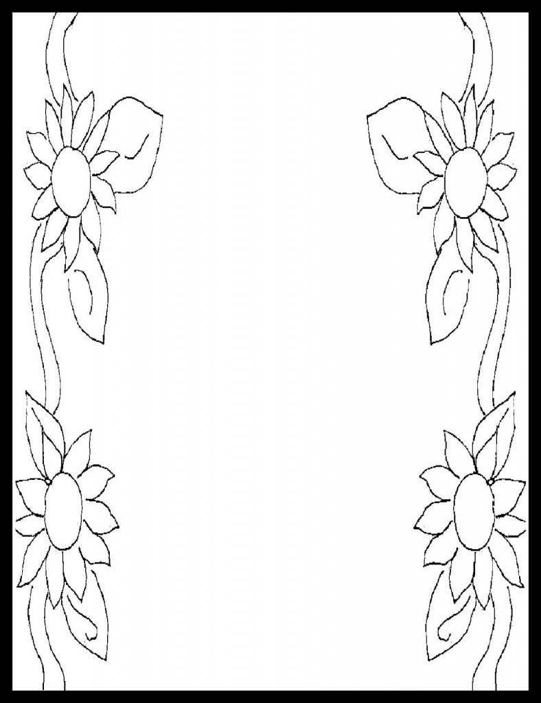 Border Design Drawing At Getdrawings Free For Personal Use