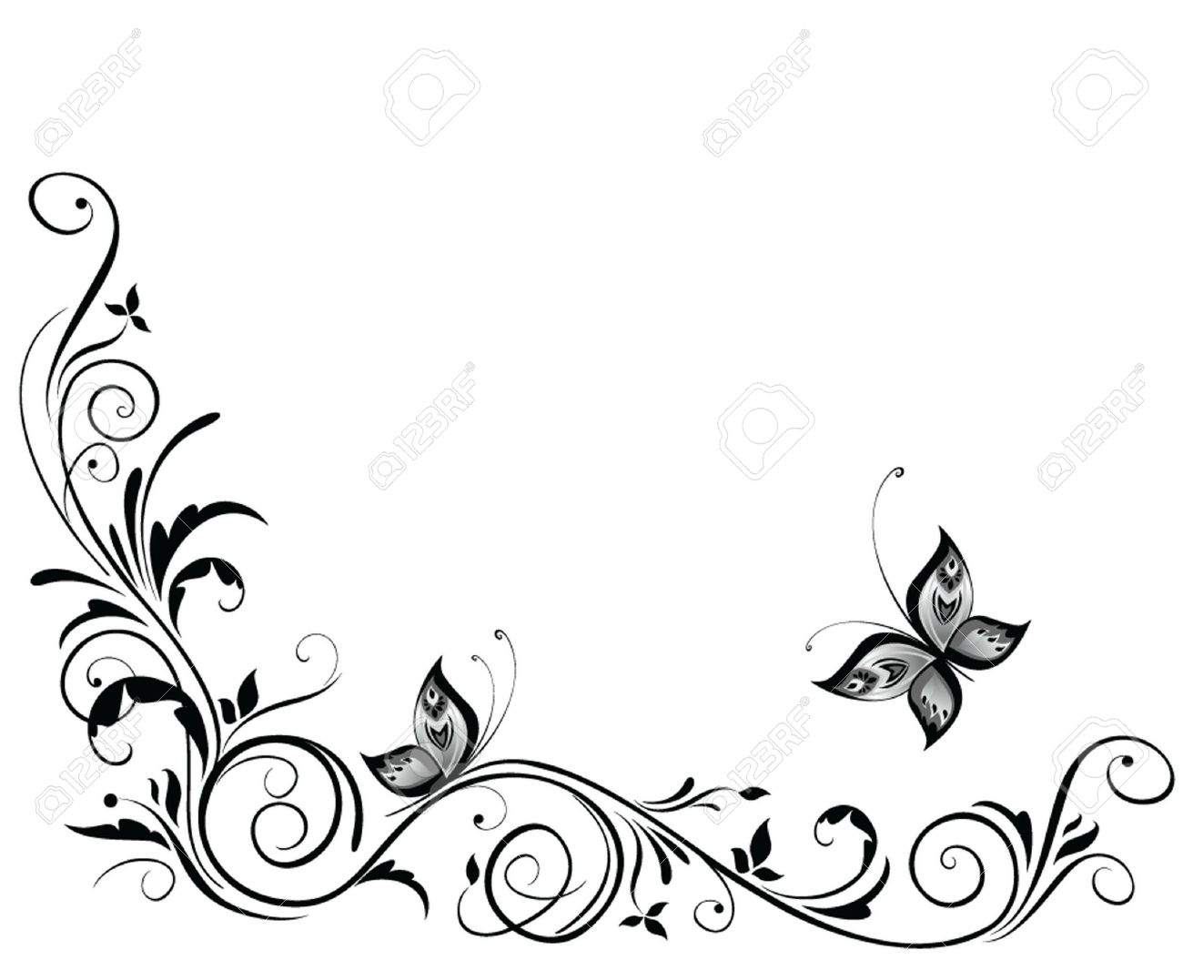 Border Design Drawing At Getdrawings Com Free For