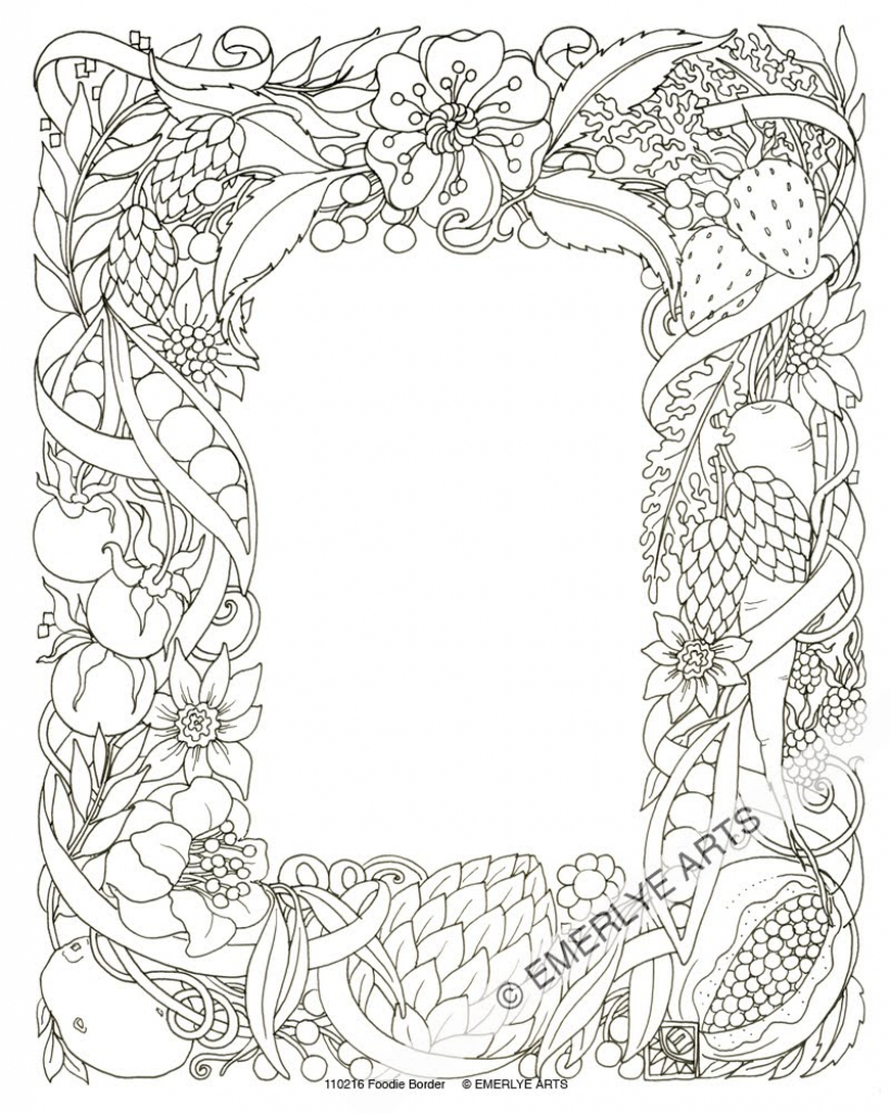 819x1024 Border Pencil Paintings Pencil Sketch Rose Page Border Design