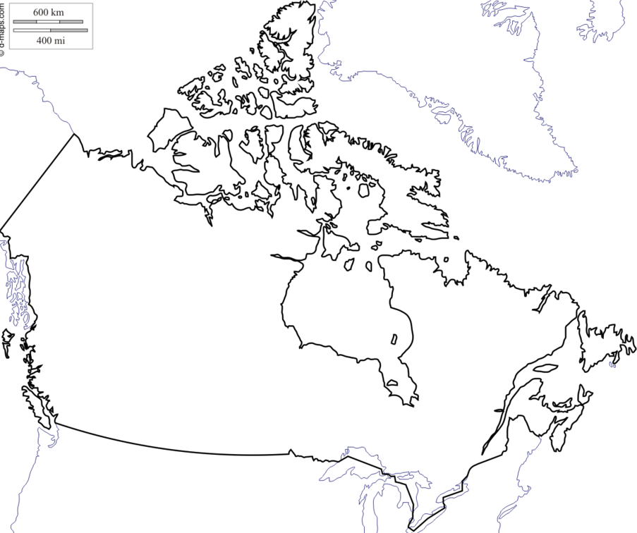903x756 Let's Draw The Canadian Borders Quiz