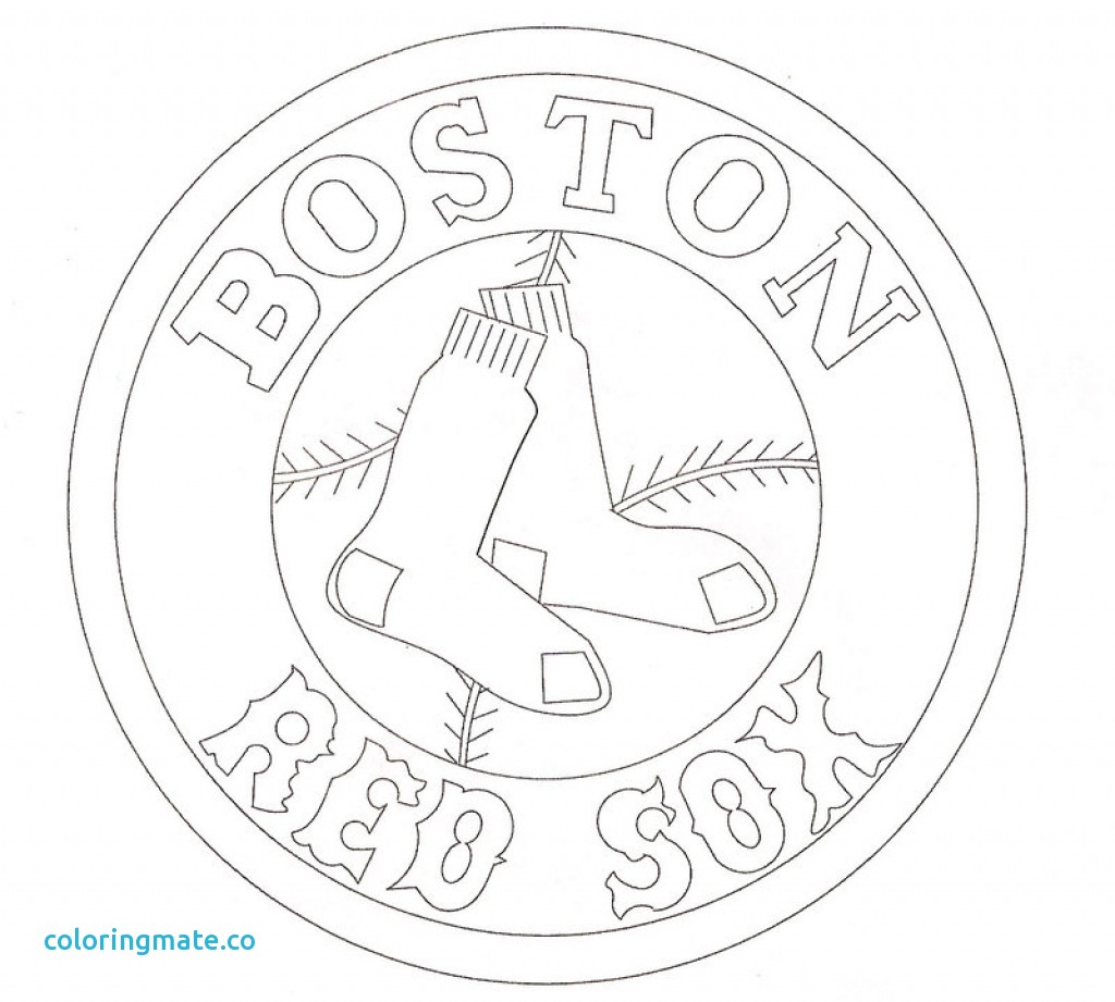 1024x921 Boston Coloring Pages Elegant Boston Red Sox Regarding Red Sox