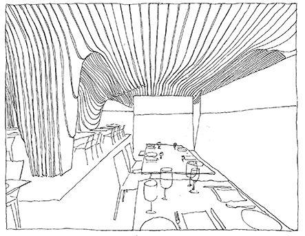 443x343 Office Da, Banq, Boston, Massachussets, Usa Drawn By Riccardo