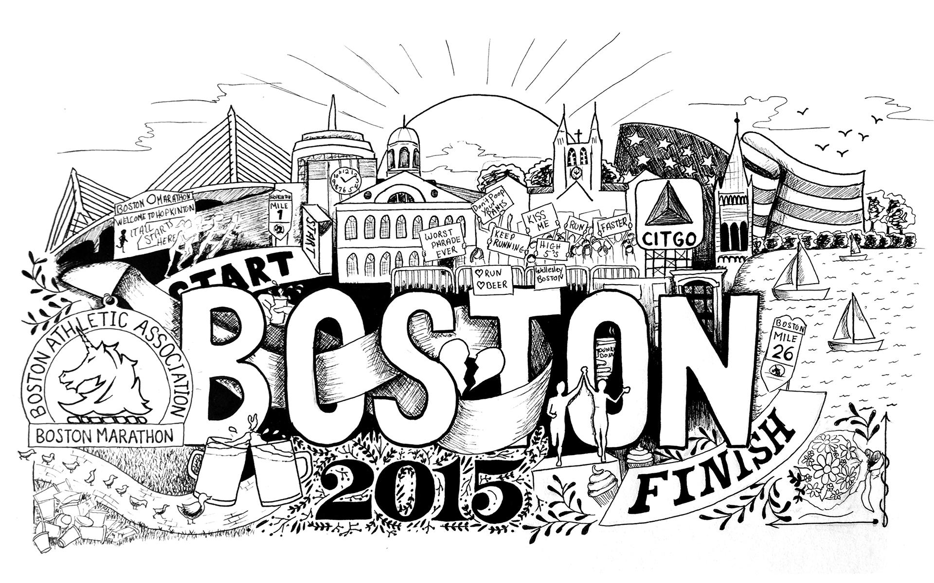 1920x1200 Boston Strong Missfitznyc
