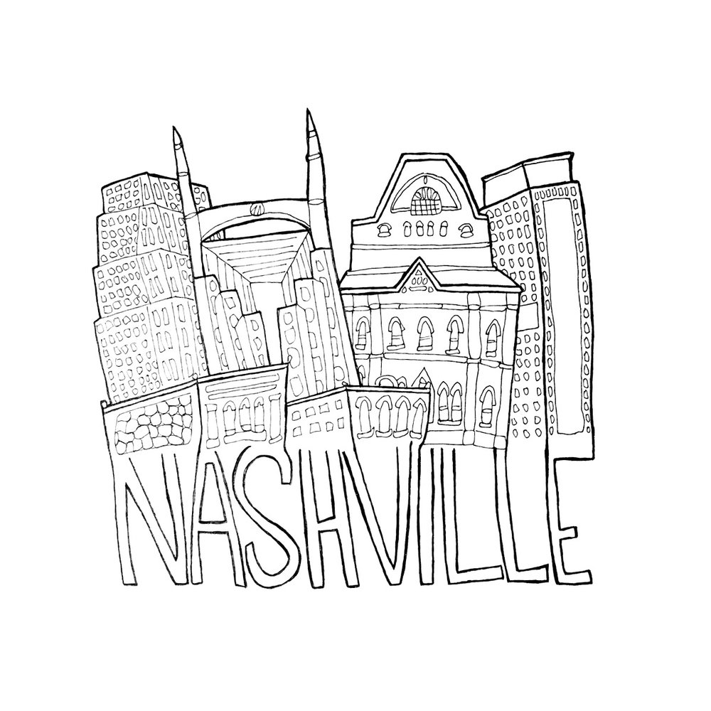 1000x1000 Bundle Of 3 City Prints That First Year