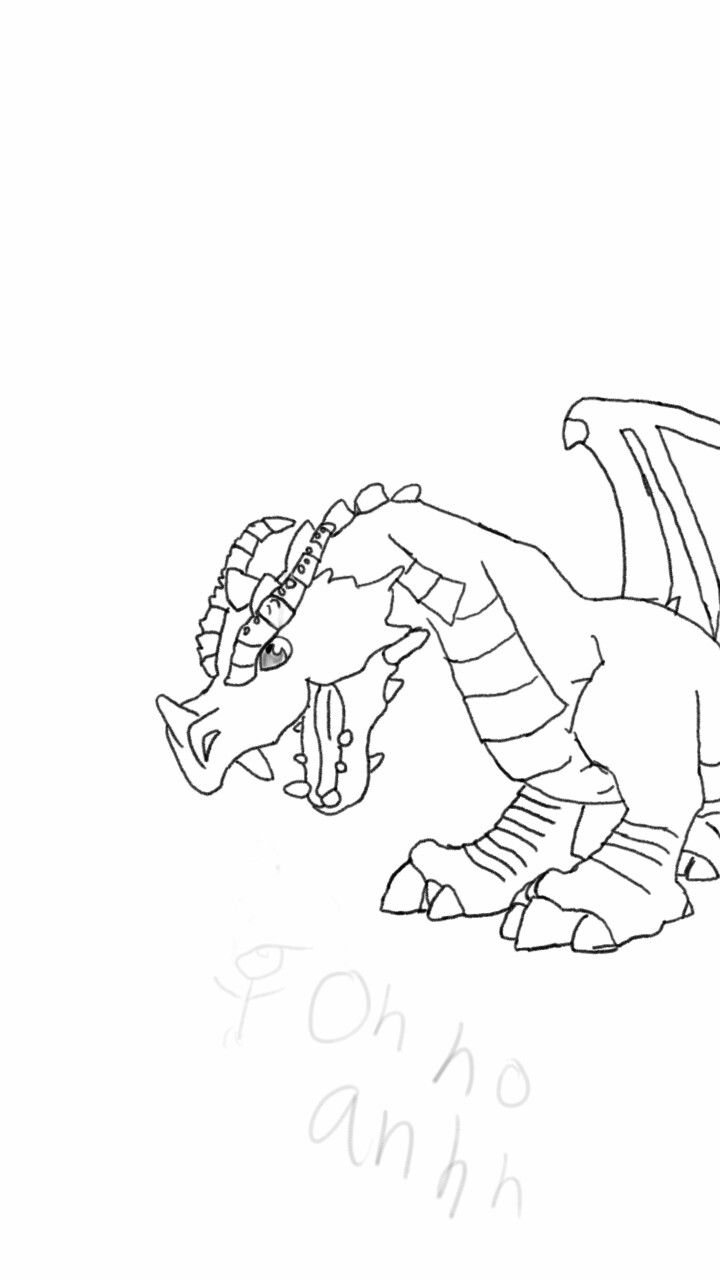 720x1280 My First Dragon! (Bah) Doodeling And Drawing 2015