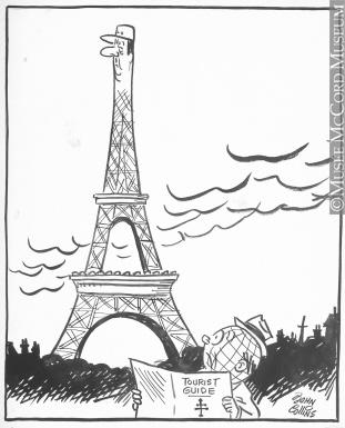 311x385 How To Draw Paris Skyline Cartoon