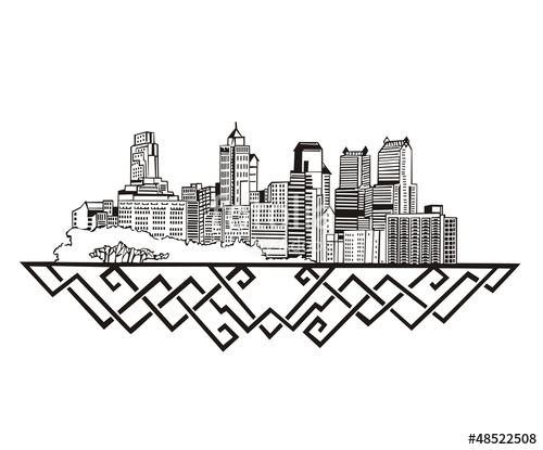 500x415 Philadelphia, Pa Skyline Stock Image And Royalty Free Vector
