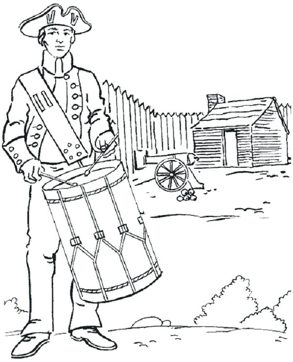 600x740 Boston Tea Party Coloring Page Free Coloring Page Tea Party Free