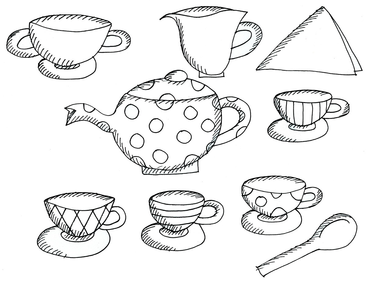 Boston Tea Party Coloring Pages Printable