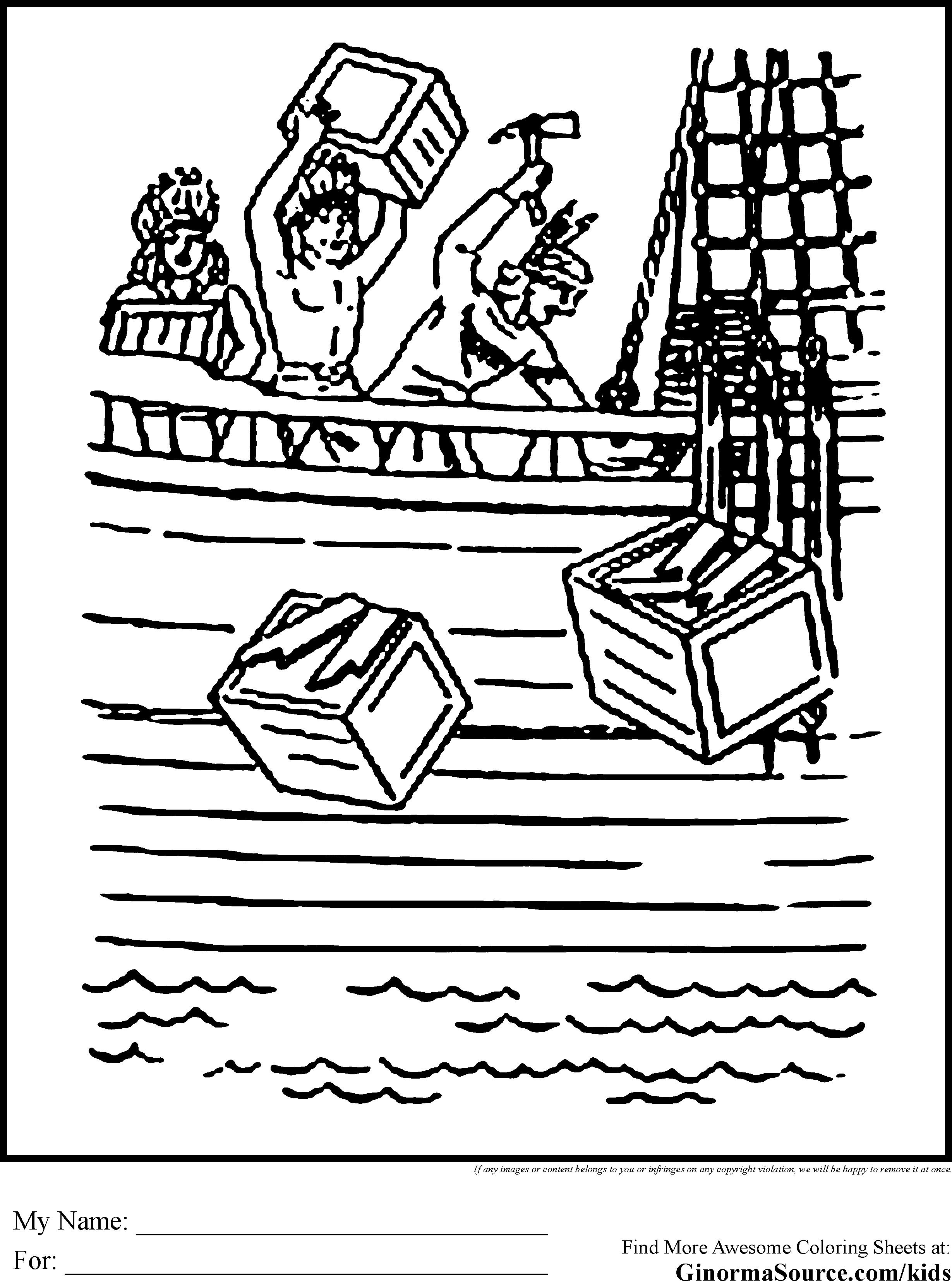 2459x3310 Boston Tea Party Drawing