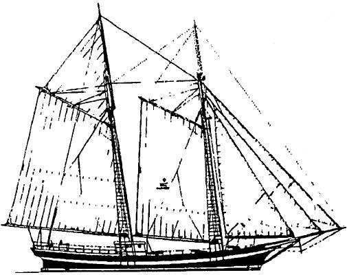 Boston Tea Party Ship Drawing