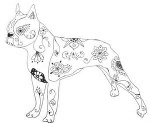 300x246 Boston Terrier Coloring Pages